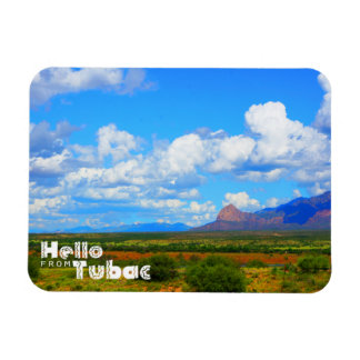 Hello from Tubac, View outside Tubac Magnet