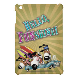 HELLO FUNSHINE... SURFER DOGS CASE FOR THE iPad MINI