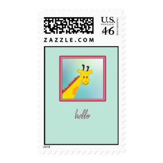 hello girafe postage