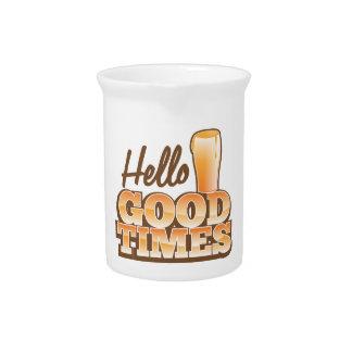 Hello Good Times! beer shop design Beverage Pitcher