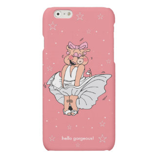 hello gorgeous! Marilyn Monroe Matte iPhone 6 Case