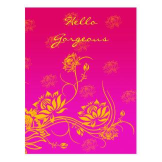Hello Gorgeous Postcard