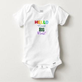 Hello Great Big World Rainbow Infant Shirt