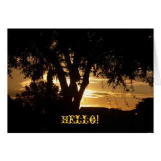 Hello! Greeting Cards