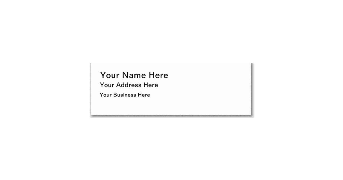 Hello handwritten note mini business card zazzle for Handwritten business cards