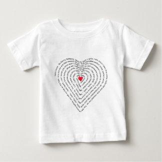 Hello Heart, Song lyrics by Denny DeMarchi. T-shirt