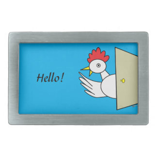 Hello!  Hello! Belt Buckle