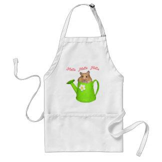 Hello hello hamster adult apron