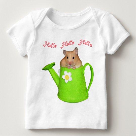 Hello hello hamster baby T-Shirt