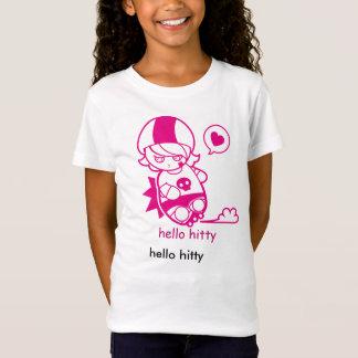 hello hitty! kids roller derby tee