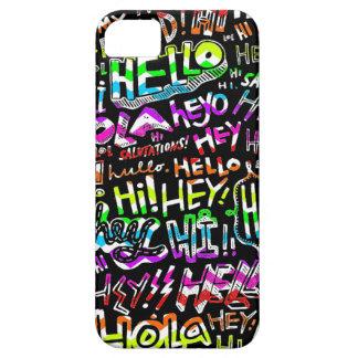 Hello Hola Bonjour iPhone SE/5/5s Case