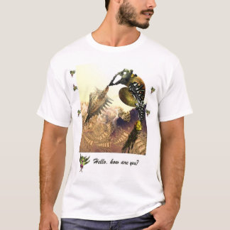Hello how are you t-shirt by Anjo Lafin