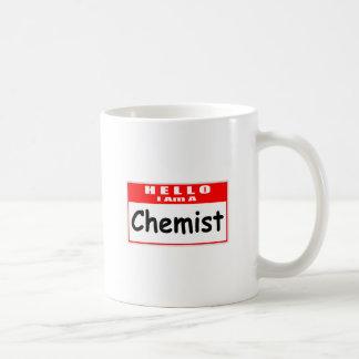 Hello, I Am A Chemist ... Nametag Coffee Mug