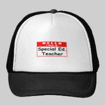Hello, I Am A Special Ed. Teacher Hats