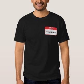 Hello I am a Vegetarian Tee Shirts