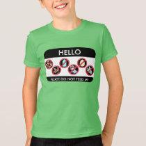 Hello I am allergic to Custom Top 8 Allergy Symbol
