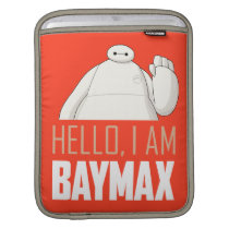 Hello, I am Baymax iPad Sleeve