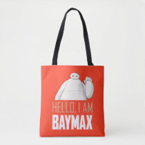 Hello, I am Baymax Tote Bag