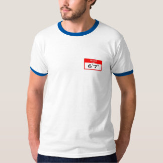 HELLO I am [THIS TALL] - Thanks for your concern! T-Shirt