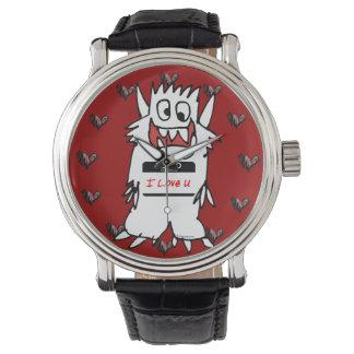 Hello, I Love U Monster Watches