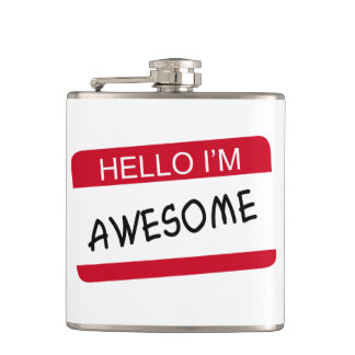 Hello Im Awesome Flasks