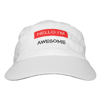 Hello I'm Awesome Hat