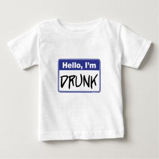 Hello, I'm Drunk Baby T-Shirt