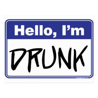Hello, I'm Drunk Postcards
