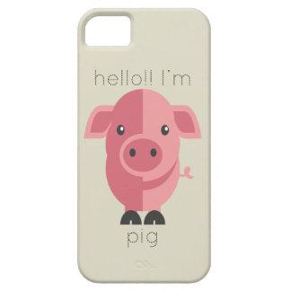 Hello Im Pig iPhone SE/5/5s Case