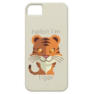 Hello Im Tiger iPhone SE/5/5s Case