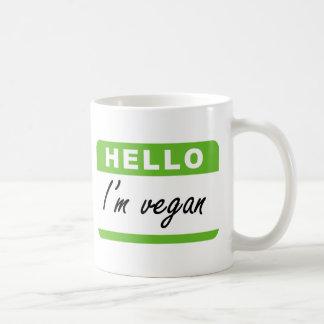 Hello I'm Vegan Coffee Mug