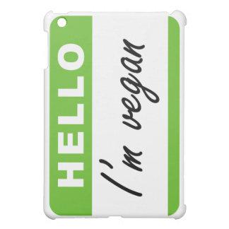 Hello I'm Vegan iPad Mini Covers