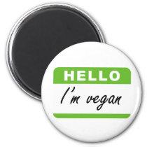 Hello I'm Vegan Magnet
