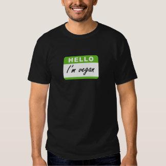 Hello I'm Vegan Shirt