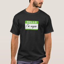 Hello I'm Vegan T-Shirt
