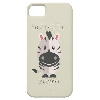 Hello Im Zebra iPhone SE/5/5s Case