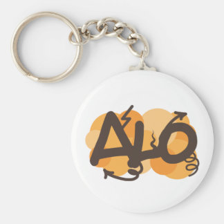 Hello in Creole - alo Keychains