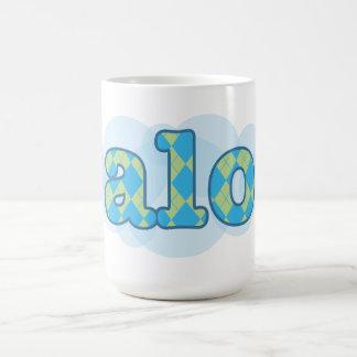 Hello in creole - alo coffee mug
