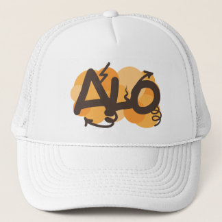 Hello in Creole - alo Trucker Hat