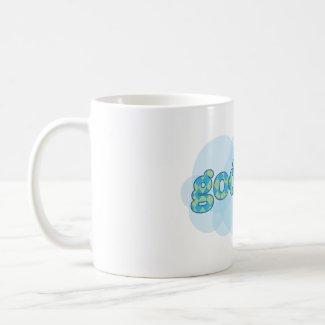 Hello in Danish - Goddag with argyle pattern zazzle_mug