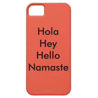 hello in different languages iPhone SE/5/5s case