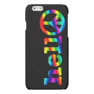 Hello in Peace Matte iPhone 6 Case