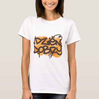 Hello in Polish graffiti style T-Shirt