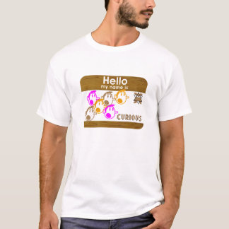 Hello in Wood T-Shirt