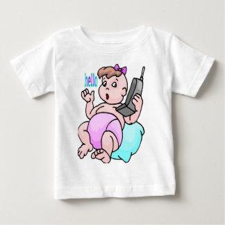 hello, infant t-shirt