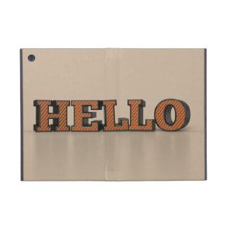 Hello iPad Mini Covers