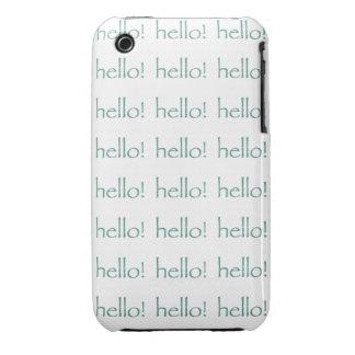 Hello iPhone 3 Case