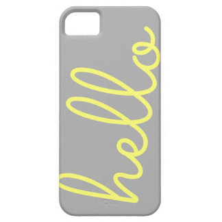 Hello iPhone Case iPhone 5 Covers