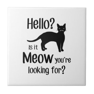 Hello is it meow you are looking for ceramic tile