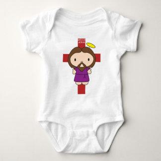 Hello Jesus Baby Bodysuit